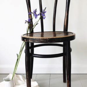 French vintage bentwood bistro chair