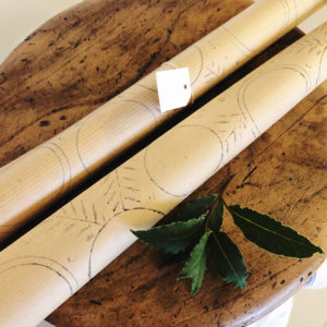 Gorgeous, hand printed wrapping paper that will bring something extra special to your gift wrapping