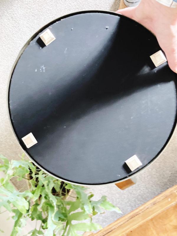 Durlston designs large vanity pedestal mirror 1960s